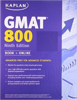 "Kaplan GMAT 800 Students who aspire to get the highest scores can count on ""Kaplan GMAT 800 ""to help them accomplish their goals."