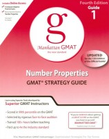 Manhattan GMAT Number Properties Strategy Guide