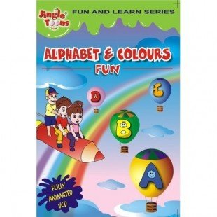 Alphabet & Colours Fun CD