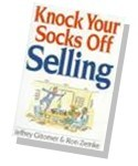 "Knock Your Socks Off Selling The successful ""Knock Your Socks Off"" (KYSO) formula for wowing customers is back, adapted into a surefire strategy for winning sales by the illustrious consulting team of Gitomer and Zemke. The book will help salespeople succeed in today's complex and stiffly competitive sales environment."