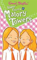Upper Fourth at Malory Towers (No.4) For 'Starts', there is twin trouble with Connie and Ruth. The 'main' pain is Gwen. To 'finish', there is a picnic and a midnight feast in a thunderstorm.