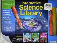 Interactive Science Library (Includes SD - X Interactice Reader And 3 Reference Books (Space, Earth And Humans)