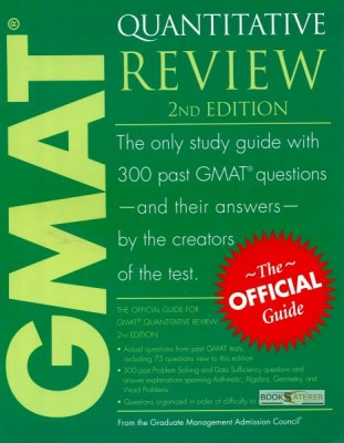 The Official Guide For GMAT Quantitative Review This book contains 300 past Problem