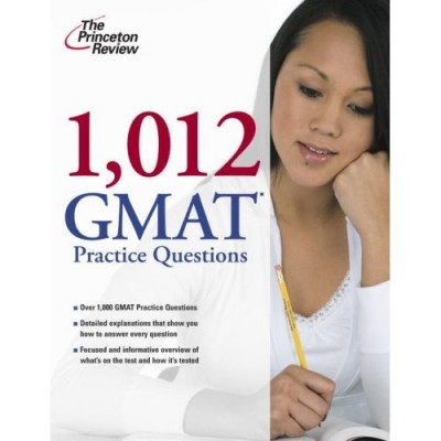 1,012 GMAT Practice Questions This book contains multiple drills for each verbal question type: sentence correction, reading comprehension, and critical reasoning.
