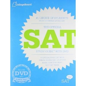 The Official SAT Study Guide with DVD [Paperback]