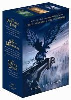 Percy Jackson and the Olympians Paperback Boxed Set (Books 1-3) Humans and half-bloods alike agree;Percy Jackson and the Olympians is a series fit for heroes! Re-live the adventure from the beginning with this boxed set of the first three books.