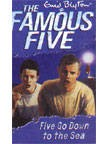 The Famous Five (12) FIVE GO DOWN TO THE SEA  | Enid Blyton New and contemporary cover treatment brings The Famous Five into the 21st Century, and to a whole new generation of readers!