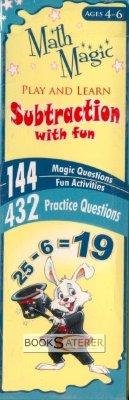 Math Magic - Play And Learn Subtraction With Fun The card boxes (Addition, Subtraction, Multiplication and Division) in the Math Magic series brings lots of fun into solving arithmetic problems. Children will enjoy inserting the cards into the...