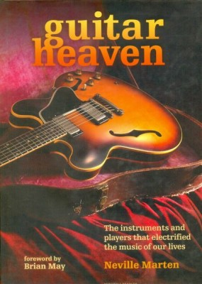 Guitar Heaven The book is organized alphabetically to allow fascinating juxtapositions between guitar manufacturers, and features around 50 iconic instruments.