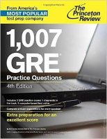 1007 GRE Practice Questions 4th Edition