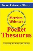 Merriam - Webster's Pocket Thesaurus
