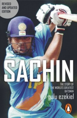 Sachin : The Story Of The World's Greatest Batsman He's a god in India  and people believe luck shines in his hand . . . It