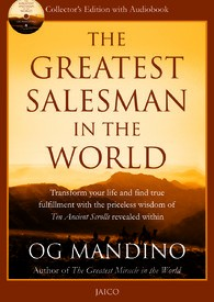 The Greatest Salesman In The World (With CD) This timeless story presents the writings from the original scrolls.