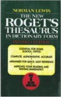 The New Roget's Thresaurus