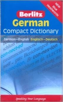 Berlitz German Compact Dictionary This book is includes handy, pocket format ideal for a school bag, briefcase or rucksack; and over 30,000 entries capturing the core words of the language