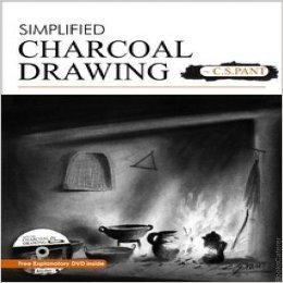 Simplified Charcoal Drawing (Free Explanatory DVD Inside) Probably one of the very few books on this medium, makes the learner thoroughly enjoy the beauty of black in this colorful world around us!