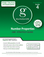 Manhattan GRE Number Properties GRE Strategy Guide
