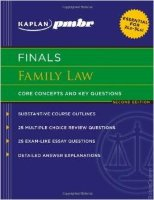 Kaplan Finals Family Law