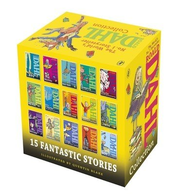 Roald Dahl's Collection (Set of 15 Books)