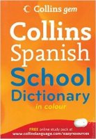 Collins Spanish School Dictionary in Colour