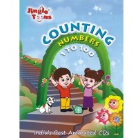 Counting Numbers 1 To 100 CD