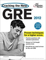 Cracking the  New GRE 2012 EDITION