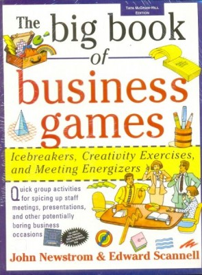 The Big Book of Business Games The Big Book of Business Games contains dozens of group games and activities for managers and team leaders to use their departments, staff, or committees, or for anyone to use with a sleepy audience.