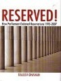RESERVED! How 