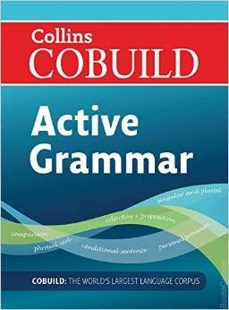Collins Cobuild Active Grammar The Collins co-build Active English Grammar offers in-depth guidance on the key areas of English grammar.
