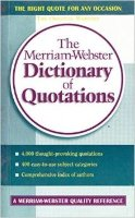 Merriam - Webster's Dictionary of Quotations