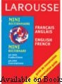 Larousse Mini Dictionary English - French